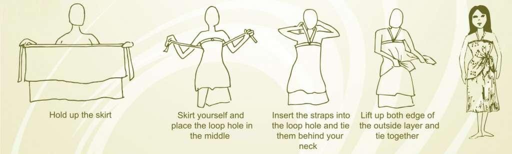 Magic skirt dress instructions (Style 1)-3
