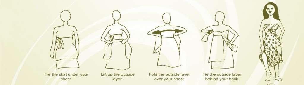 Magic skirt dress instructions (Style 2)