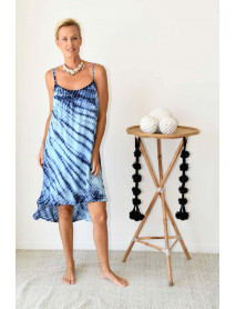 10 Summer Sleeveless tie dye dresses for Women