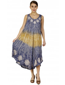 05 Rayon Tie Dye Summer/Beach Dresses