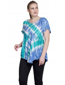 10 Multicolour Short Sleeve Tops for Women