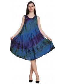 Lot of 10 Affordable Multi colour Dye Urban Dresses