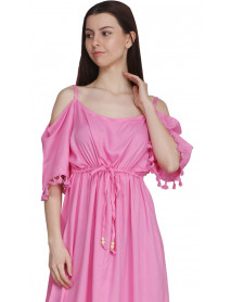 50 Rayon Off-shoulder Wholesale Womens Urban Clothing Dresses
