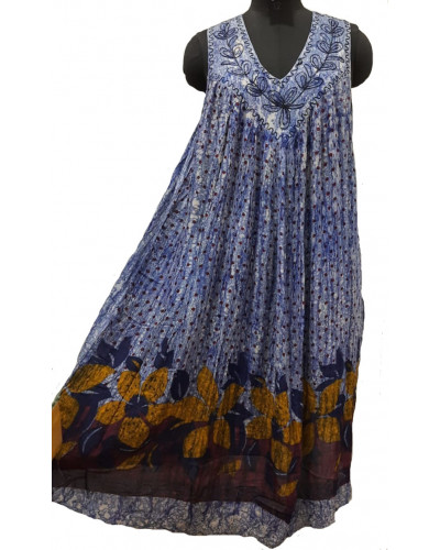 Pack of 10 One Piece Printed Long Sundress