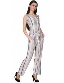 05 Pcs Striped Jumpsuits for Women