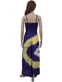 Sexy Spaghetti Strap High Waist Dress - Wevez