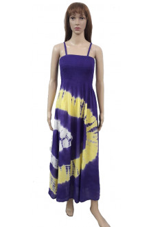 05 Sexy Spaghetti Strap High Waist Dress - Wevez
