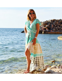 10 Spanish Beach Summer Colorful Dresses