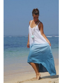 05 Pcs Long Drape Slip Dresses