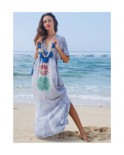 05 Pcs Street-wear Summer Maxi Dress