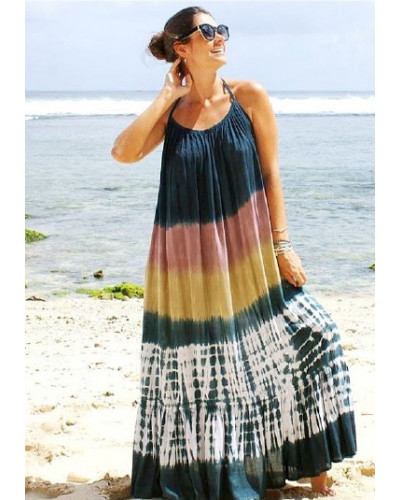 05 Pcs Womens off the Shoulder Maxi Dress
