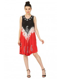 10 Hawaian Summer rayon dress