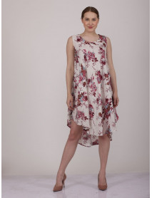 Pack of White Midi Floral Dress