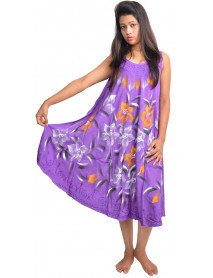 50 Rayon tie dye umbrella dresses Clearence
