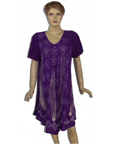 Embroidery Sleeve Dress for Maternity 100 Pcs Lot