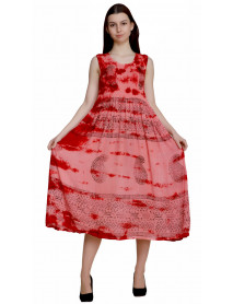 05 Tie Dye Wholesale Boutique Dresses for Ladies