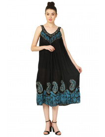 10 Australia Long Black Embroidery Dresses