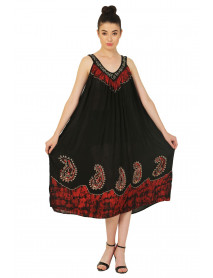 100 Australia Long Black Embroidery Dresses