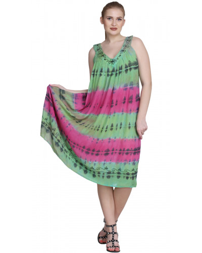 10  Pcs Pack of Australian Tie Dye Dresses for Women
