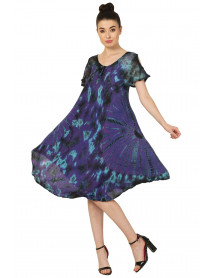 Wholesale Tie Dye Casual Dresses for Women Canada