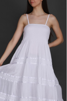 Pack of 05 Easy Elegant White Dresses