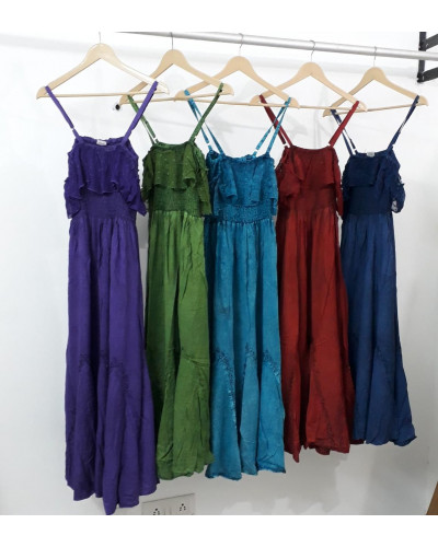 05 Pcs Simple Dress for Daily Use