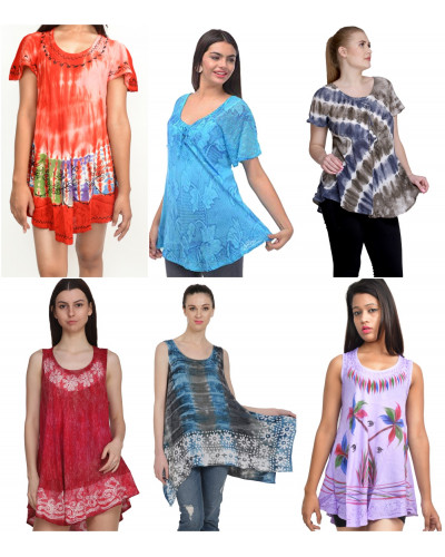 10 Mix Wholesale Indonesian Clothing Tops / Shirts
