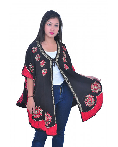 Pack of 5 Women Ponchos for Casual Fancy Wear Clothing