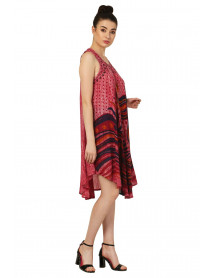 Lot of 05 Designer Ethnic Print Dresses for Women