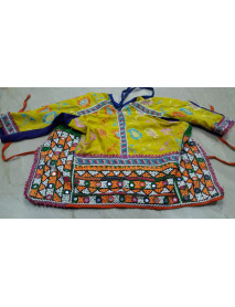 Vintage Women Banjara Mirror Choli Top  Assorted 4 pc