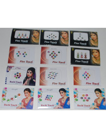 Belly Dance Women Makeup Stickers Bindi Dots