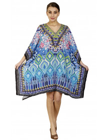 Lot of 05 Digital Printed Swimwear Cover up Bikini Poncho