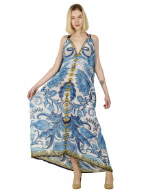 50 Pcs V-neck Long Maxi Bali Beach Swimsuit Coverup