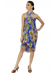 10 Women Printed Beachwear Pareo Bikini Coverups