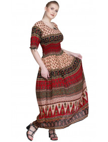 10 Wholesale Pack of Boho Maxi Dress for women