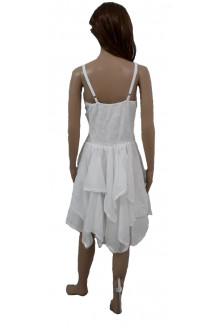 Short White Flowy Summer Dress - Wholesale Pack of 50