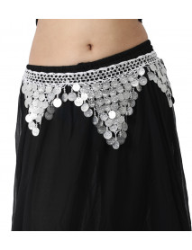 12 Egyptian Crochet hip Scarf for Belly Dance