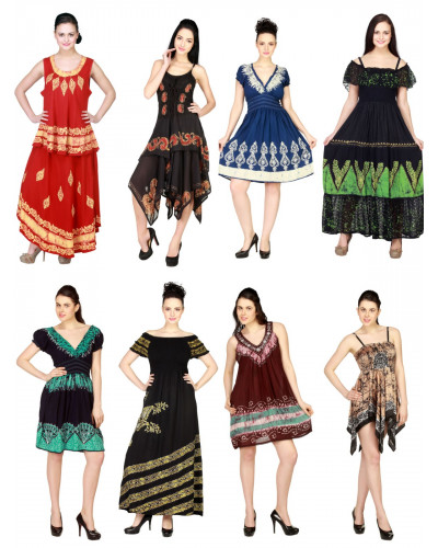 100 Resort Casual Batik Dress for Women - 2020 Designs