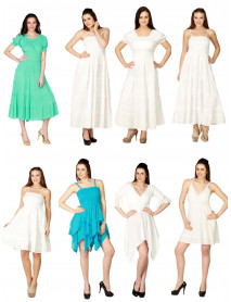100 Brazilian Office and Casual Wear Dresses