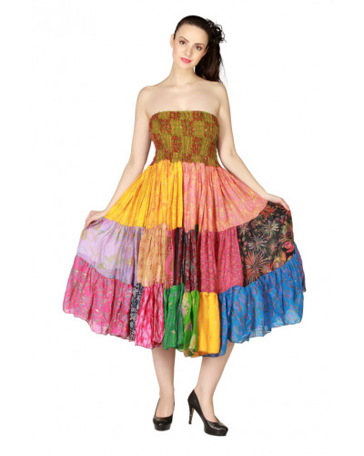 Pack of 50 Patch work Flare Dresses