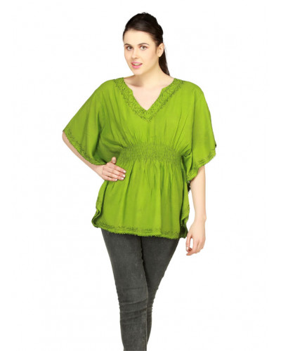 100 Casual Acid / Stone Washed Blouse Tops for Women