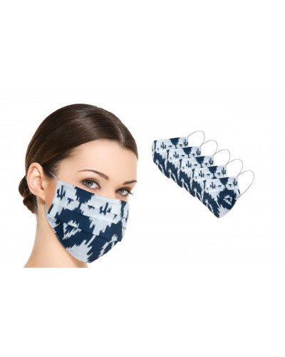 Pack of 100 Cotton Masks Reusable Washable