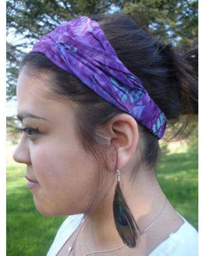 10 Elastic Adult Headbands for Women