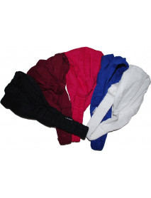 Pack of 50 Womens Fashion Cotton Plain Elastic Hair Band Headband
