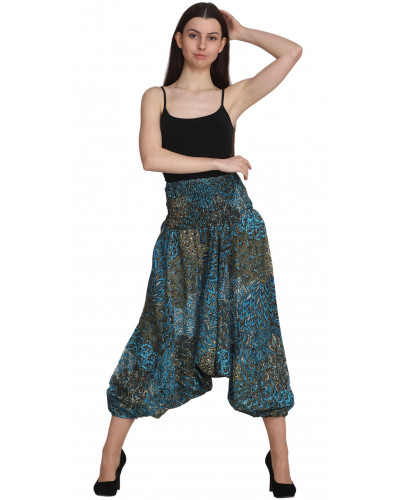 10 College High Cut Harem Pants