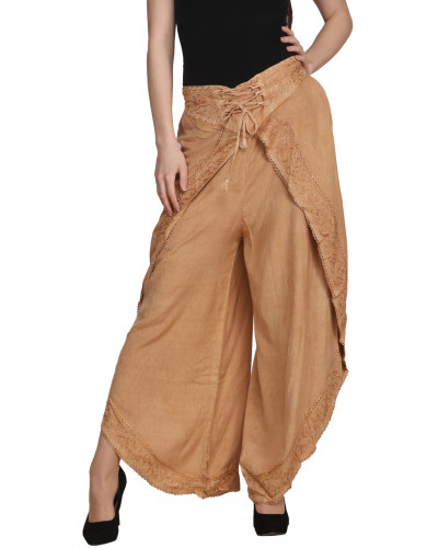 Lot of Women Stonewashed Casual Pants for Women