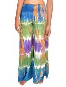 10 Women tie dye Stretchable Palazzo Pants