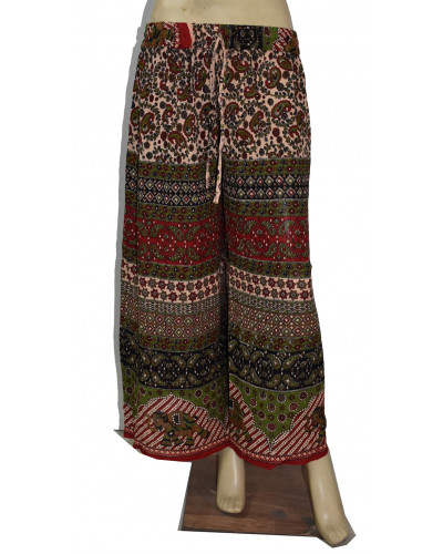 05 Pcs Casual Printed Palazzo Pants for Women