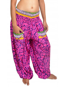 05 Harem pants with pockets Stretchable Waist