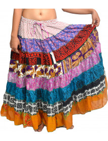 05 Indian banjara tribal skirts